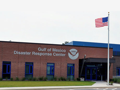 NOAA Disaster Response Center in Mobile, AL.
